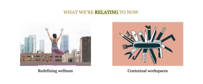 A screenshot from a Zendesk relate newsletter to illustrate the point that content can be less directly related to the product sold.