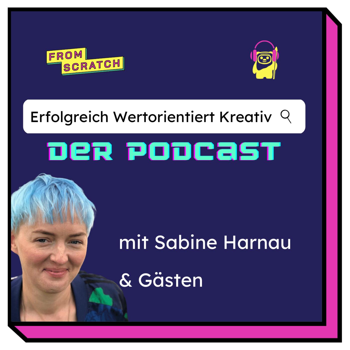 """Cover des Podcasts """"Erfolgreich Wertorientiert Kreativ"""""""
